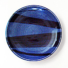 Blue & Blue Stoneware Charger