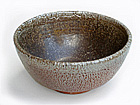 Alligator Skin Tea Bowl w/ Speckles